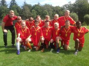 Teamfoto Spanje